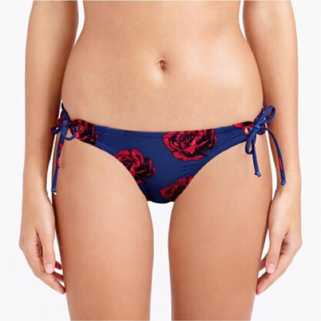 J.Crew Pop Art Rose Grommet Bikini Bottom