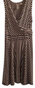 Max Studio short dress Striped on Tradesy