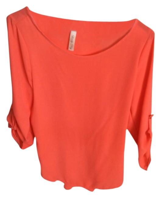 Preload https://item2.tradesy.com/images/lovely-day-bright-orangecoral-blouse-size-0-xs-4722766-0-0.jpg?width=400&height=650