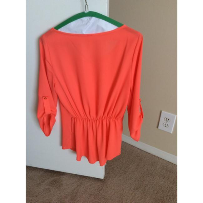 Lovely Day Top Bright Orange/Coral