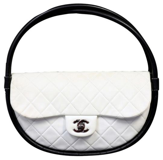 Preload https://item3.tradesy.com/images/chanel-quilted-snow-lambskin-hula-hoop-single-flap-fw-2013-white-leather-shoulder-bag-4723177-0-0.jpg?width=440&height=440