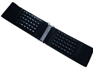 Other Studded Stretch Wide Belt