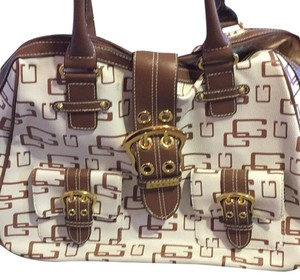 Guess White Travel Bag