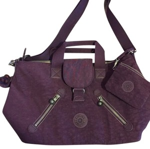 Kipling Purple Travel Bag
