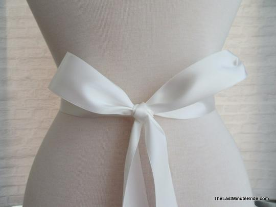 The Last Minute Bride Ivory Beaded Belt Style: Lbb-london-ow Sash