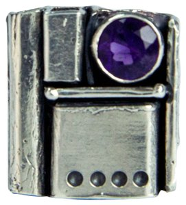 Walter Schluep Walter Schluep Amethyst Pearl Sterling Silver Ring