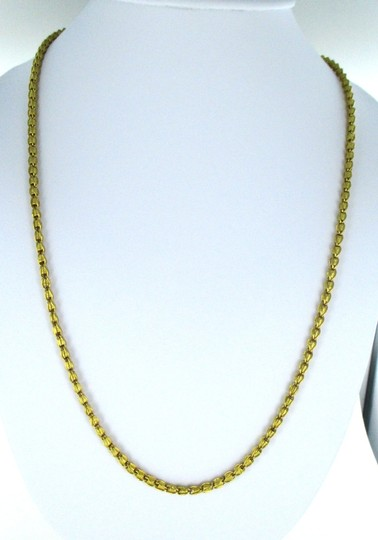 Other 22KT SOLID YELLOW GOLD NECKLACE BYZANTINE 45.1 GRAMS NO SCRAP FINE JEWELRY JEWEL