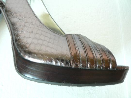 Calvin Klein Cedar/Medium Brown Platforms