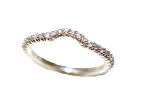 Curve Diamond Wedding Band