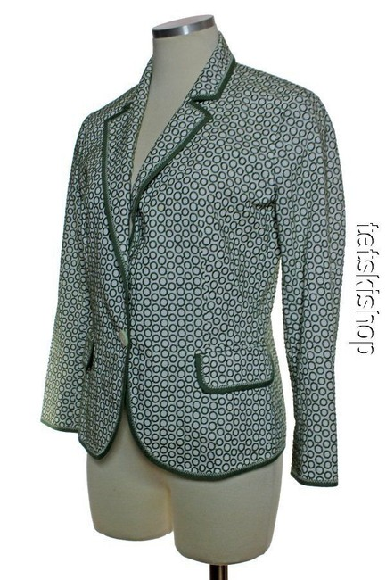 J.Crew Long Sleeve Blazer Green Jacket