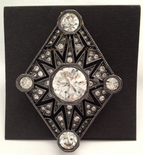 House of Harlow 1960 Palladium Plated Four Point