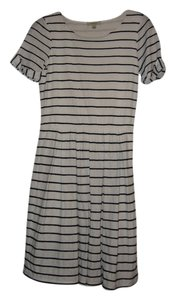 Bordeaux short dress Navy/White Stripe on Tradesy