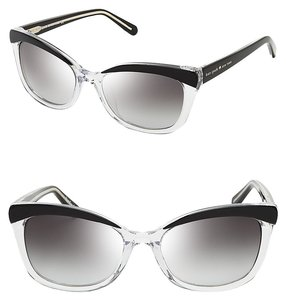 Kate Spade Kate Spade New York Women's Sunglasses Cat-Eye Clear Black