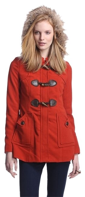Preload https://item5.tradesy.com/images/coffee-shop-burnt-orange-toggle-with-faux-fur-trim-size-8-m-4727134-0-0.jpg?width=400&height=650