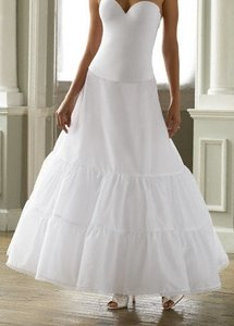 White A-line 2 Tier Slip