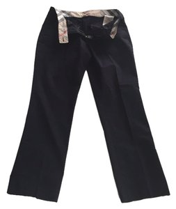 Burberry London Straight Pants Blac