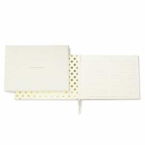 Kate Spade For The Mr. & Mrs. Guest Book