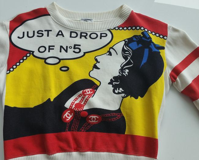 Chanel Collector Piece Just A Drop Of No. 5 Coco Rare Sweater
