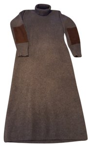 Ralph Lauren Suede Wool Dress