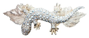Kirks Folly KIRKS FOLLY France USA Crystal Lizard Hair Clip Barrette