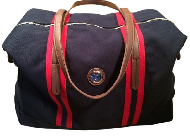Item - Red White Blue Canvas Weekend/Travel Bag