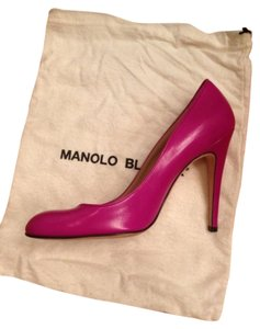 Manolo Blahnik fuchsia Formal