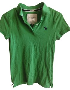 abercrombie kids T Shirt Green