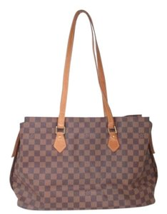 Louis Vuitton Damier Tote Shoulder Bag