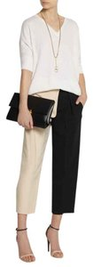 Chloé Wide Leg Pants Sand/Black