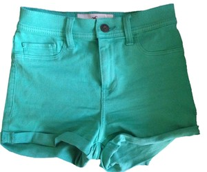 Hollister High Waisted Jegging Mini/Short Shorts Mint