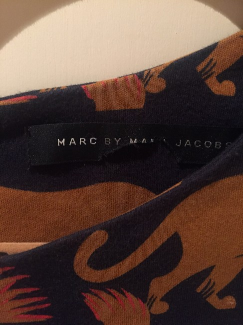 Marc by Marc Jacobs short dress Navy with print on Tradesy