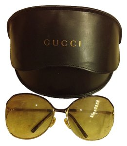 92e149420f Gold Gucci Sunglasses - Up to 70% off at Tradesy