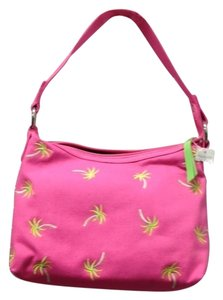 Talbots Palm Tree Shoulder Bag