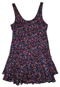 Free People short dress Pink, Blue, Black, White, Purple on Tradesy