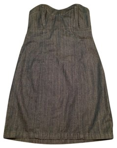 Juicy Couture short dress Strapless Summer Denim on Tradesy