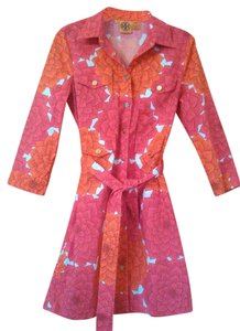 Tory Burch Floral Stylish Trench Coat
