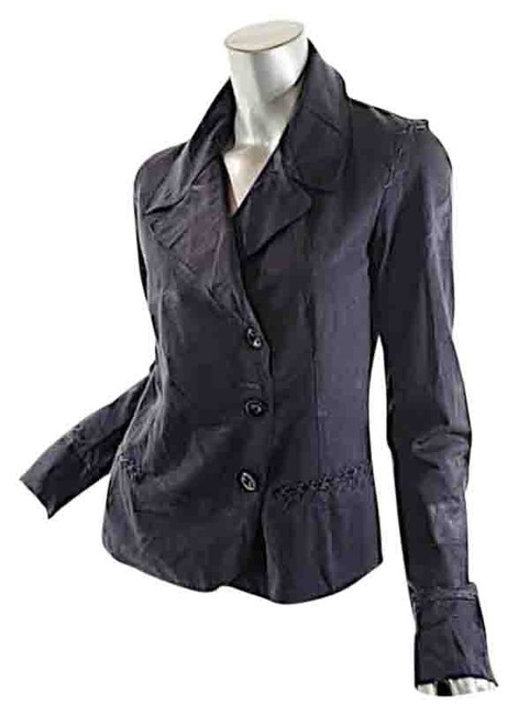 Preload https://item1.tradesy.com/images/marithe-et-francois-girbaud-charcoal-marithefrancois-distress-cotton-blend-asym-f40-spring-jacket-si-4730800-0-0.jpg?width=400&height=650
