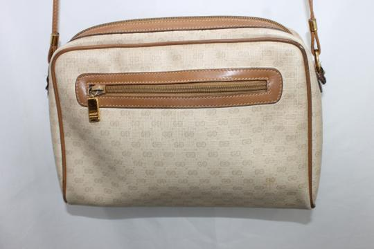 Gucci Vintage Monogram Brown Crossbody Shoulder Bag