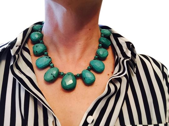 Other Authentic Turquoise Stone Necklace 16""