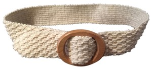J.Crew J. Crew Cream Cinch Belt