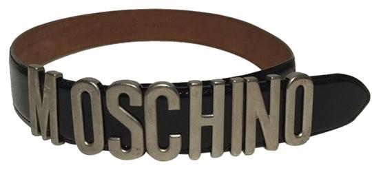 Moschino Moschino Vintage Redwall Leather Belt IT 42