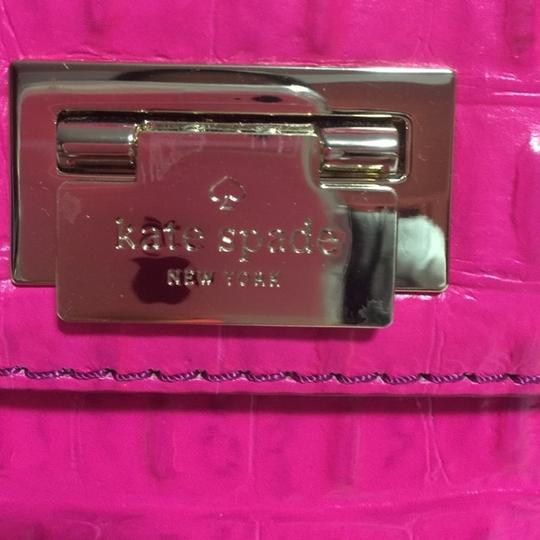 Kate Spade Saphere Doris Orchard Valley Gold Shoulder Strap Handle New With New Dustbag Purse Crocodile Leather Cross Body Bag