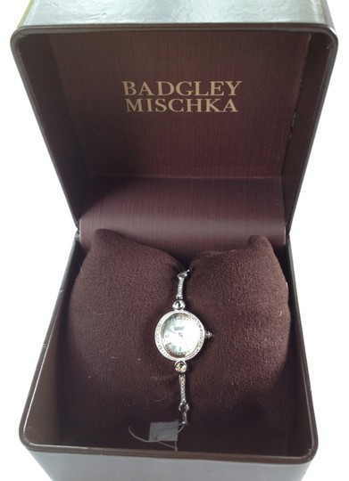 Preload https://img-static.tradesy.com/item/4732147/badgley-mischka-womens-ba1351wmsb-swarovski-crystal-watch-0-0-540-540.jpg