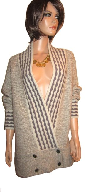 Preload https://item2.tradesy.com/images/beige-slouchy-oversize-7030-cashmere-mohair-cardigan-sweaterpullover-size-2-xs-4732396-0-0.jpg?width=400&height=650