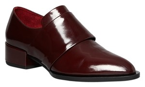 Vince Menswear Burgundy Brogue Oxblood Flats