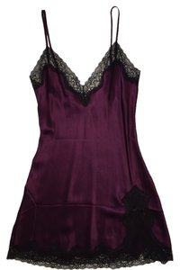 Samantha Chang short dress Purple on Tradesy