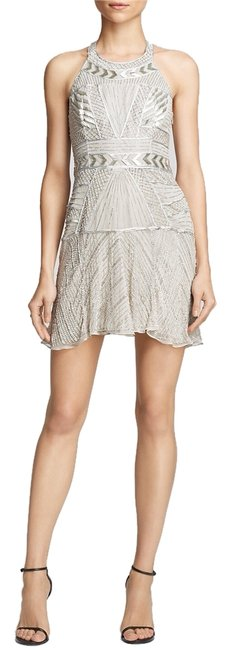 Preload https://item3.tradesy.com/images/parker-silver-leona-beaded-above-knee-cocktail-dress-size-8-m-4732522-0-0.jpg?width=400&height=650