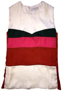 Narciso Rodriguez Top White, Green, Pink, Red