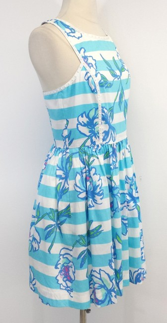 Lilly Pulitzer short dress Floral Sleeveless Cotton on Tradesy