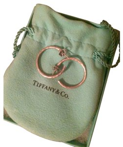 Tiffany & Co. Paloma Picasso Hammered Hoop Earrings